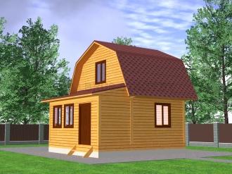 Дом из профилированного  бруса №8