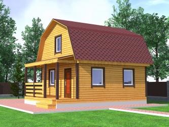 Дом из профилированного бруса №18